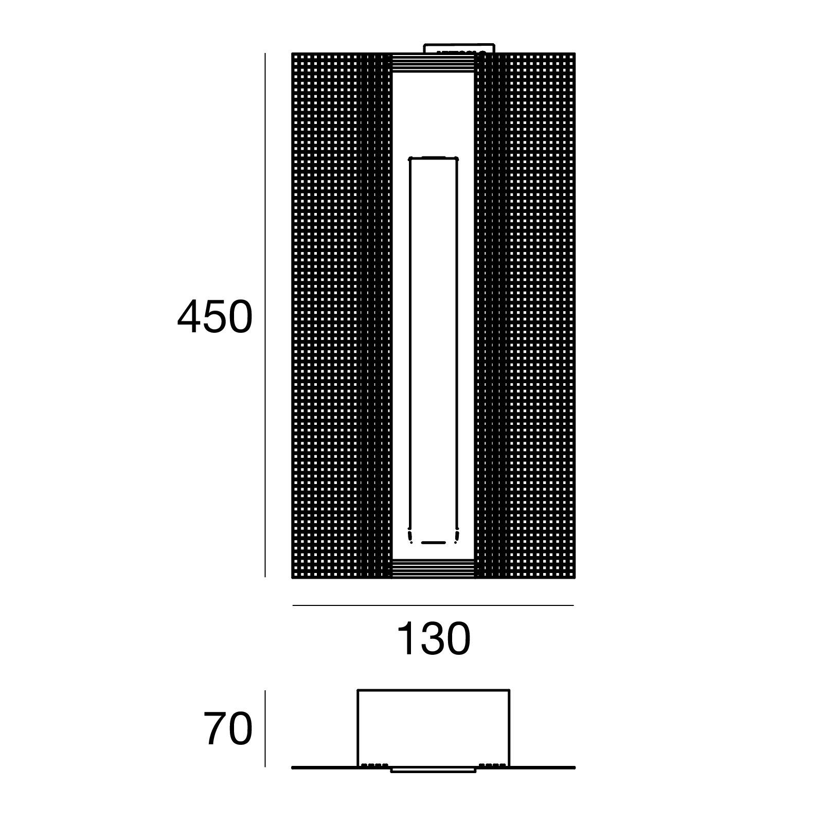 Cem_WF 64506W00 - Beton - powerLED - 2.0 W - Linea Light Group