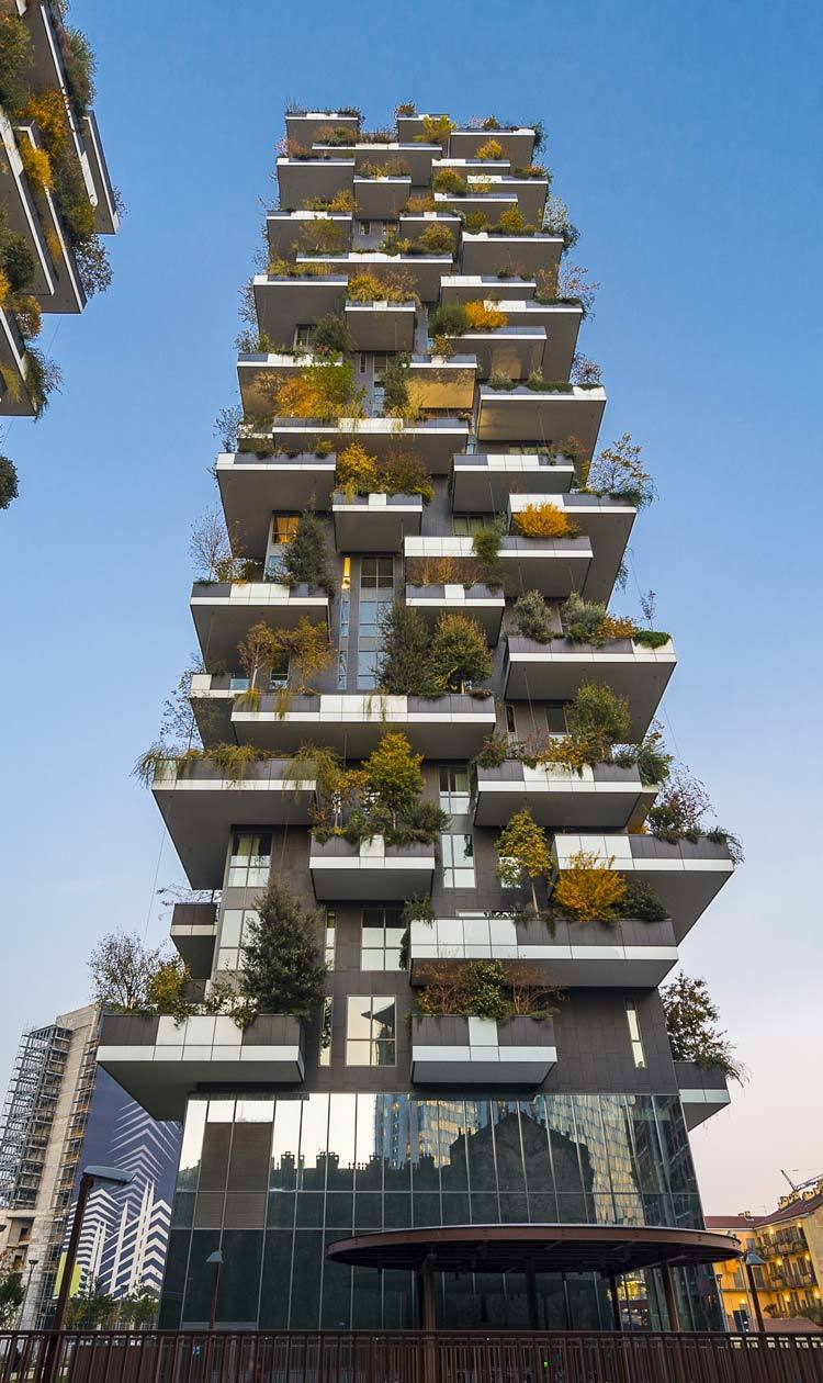 Foto Bosco Verticale Milano our projects: bosco verticale, milan - italy   linea light group