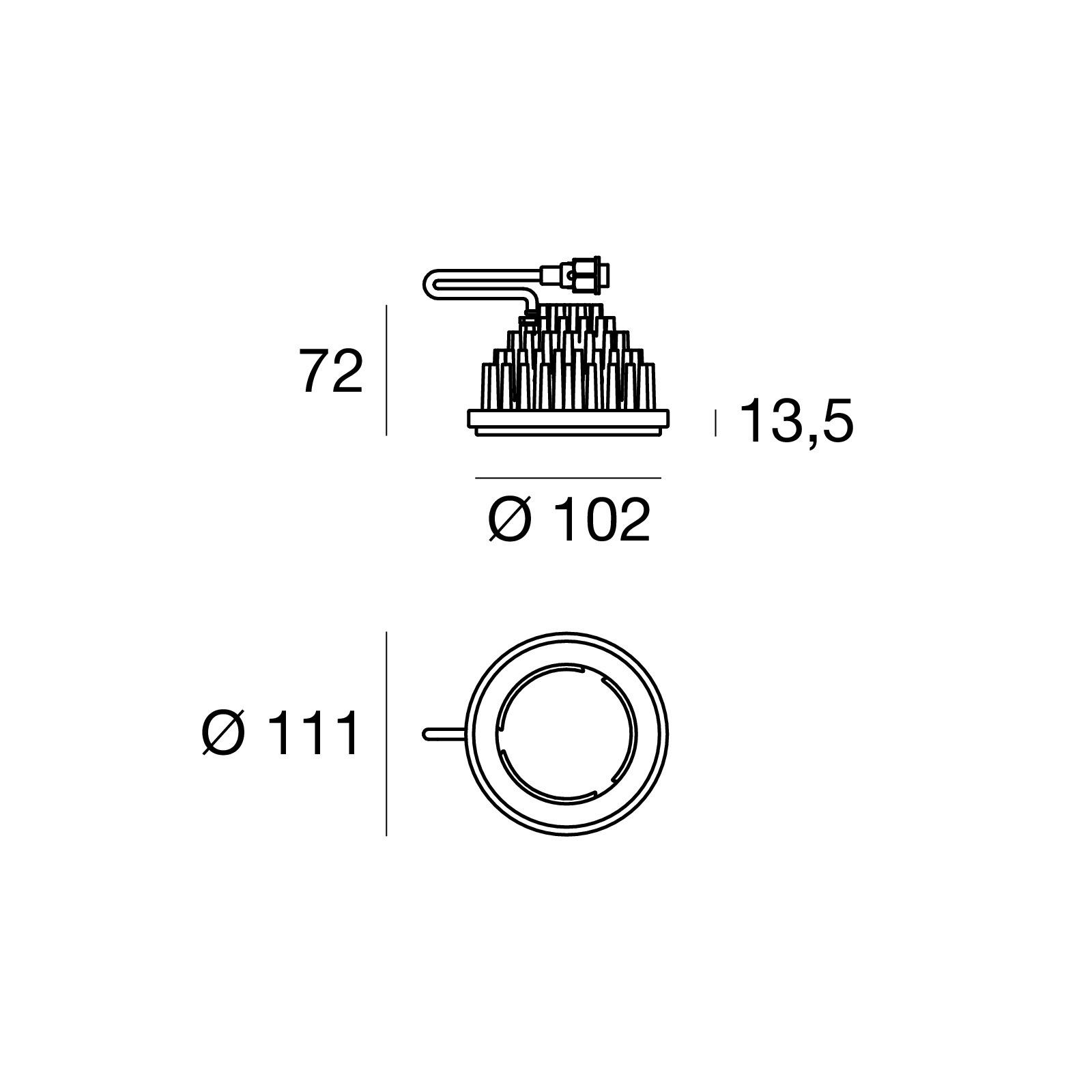 Illuminator 97483N30 - black - arrayLED - 15 W - Linea Light Group