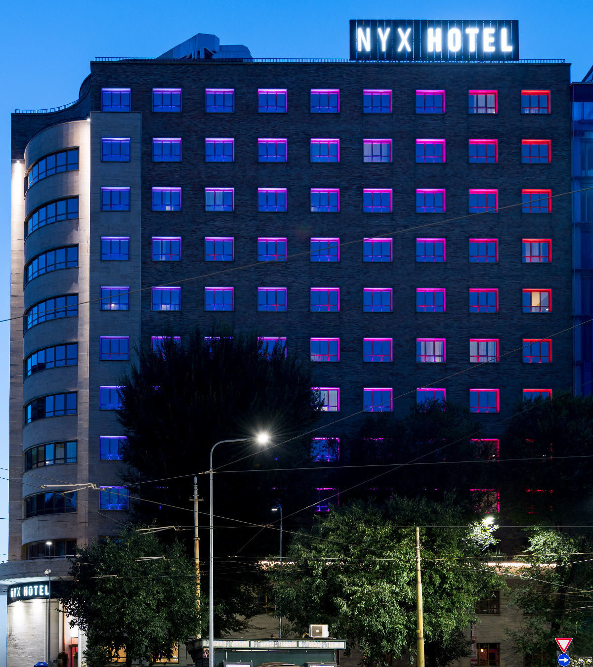 Our projects nyx milan hotel milan italy linea for Hotel milan