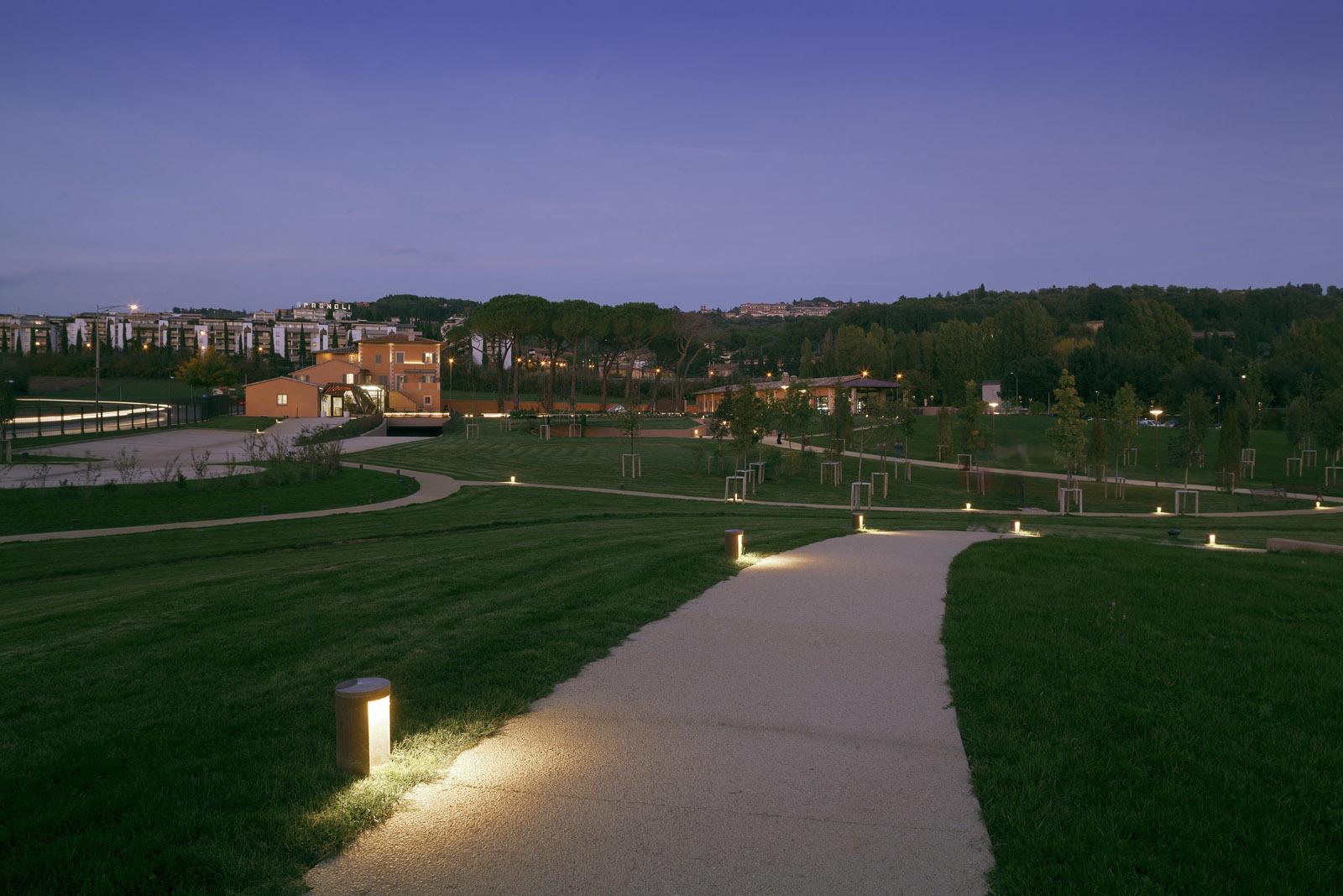 наши проекты бартон парк перуджа Linea Light Group