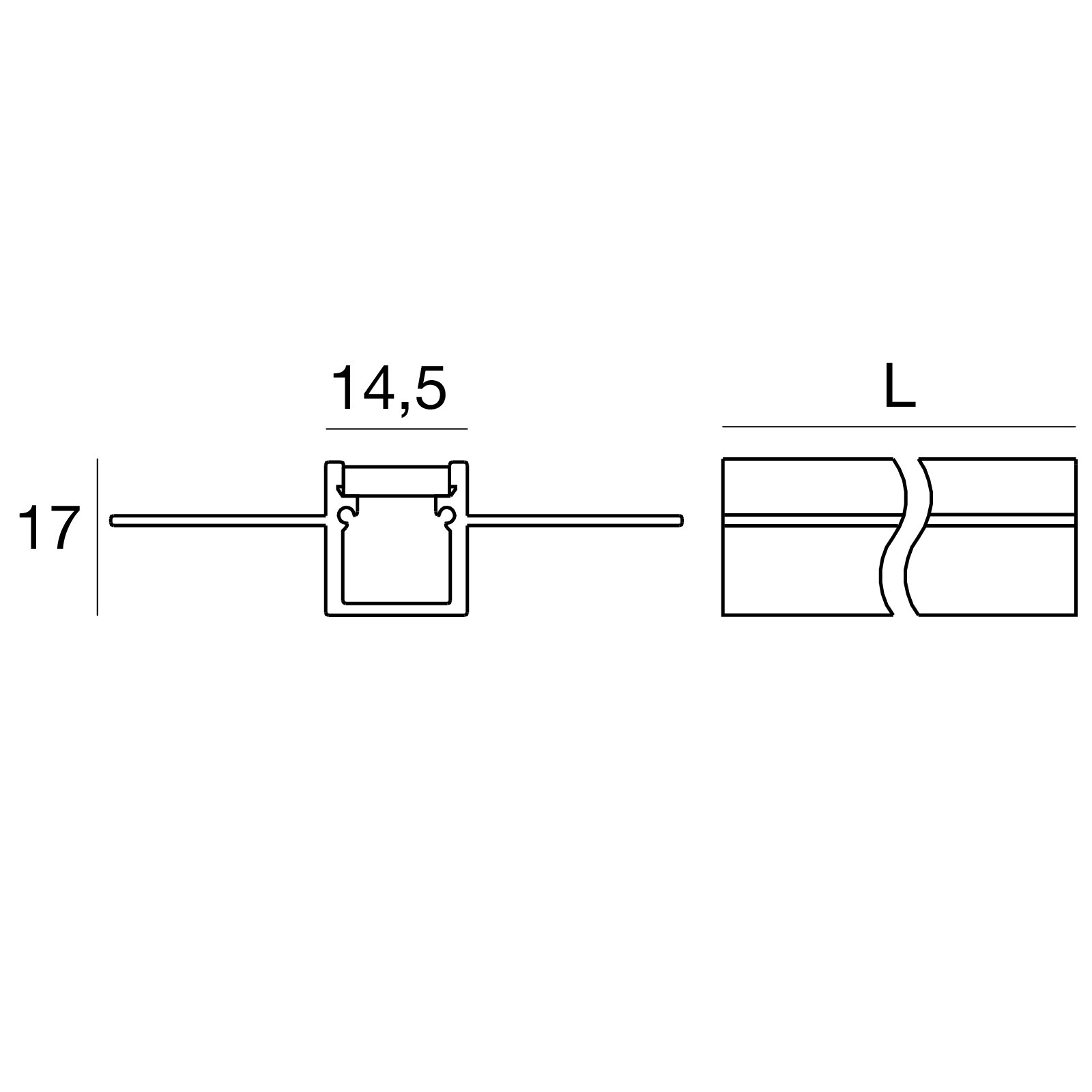 Wall Integrated Profile