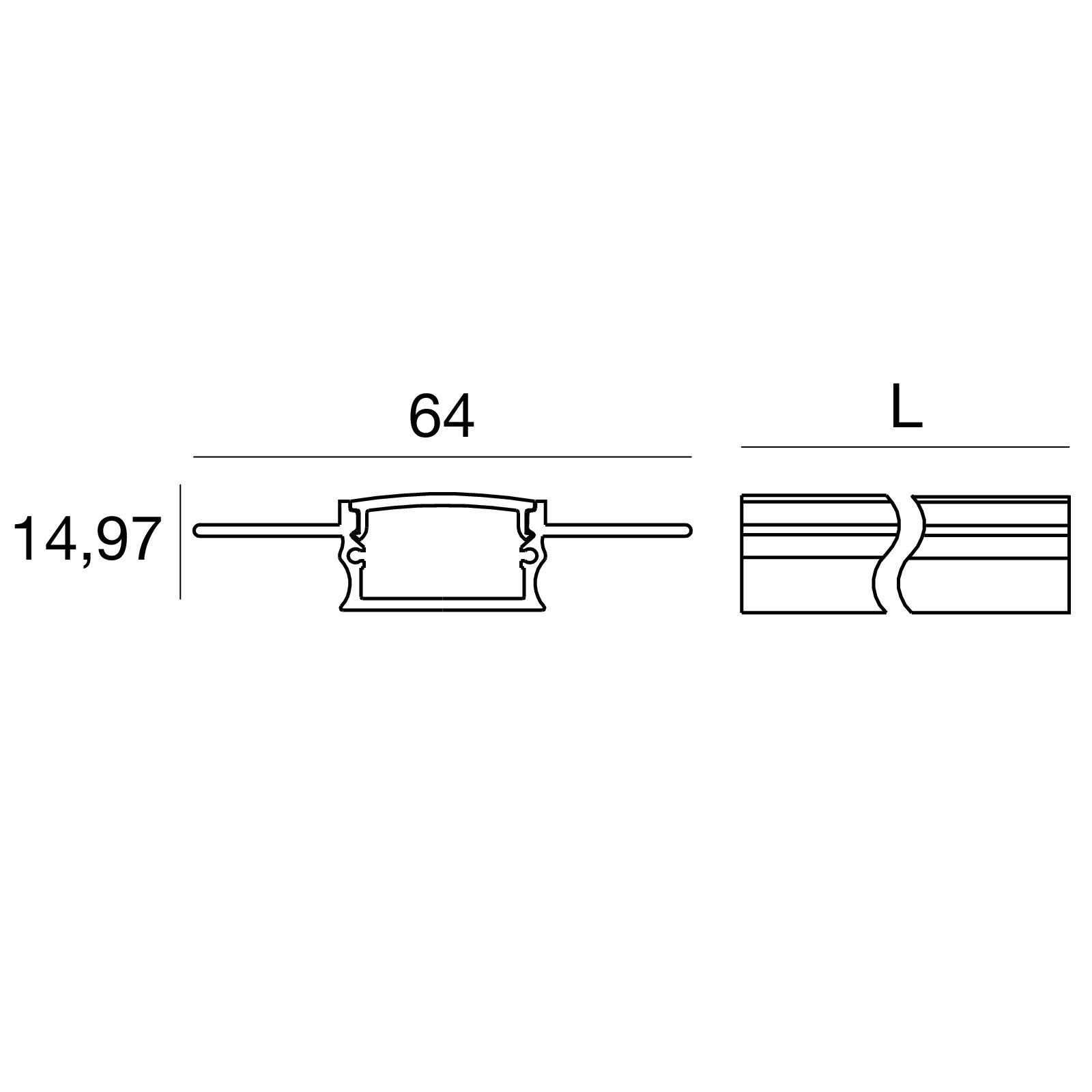 False-Ceilings Integrated Profile