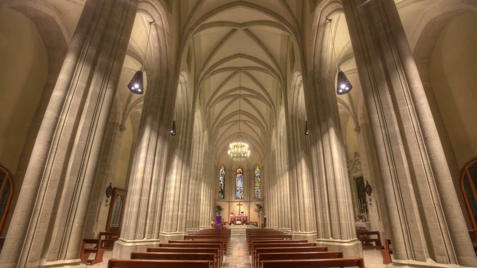 THE CHURCH OF  SAN NICOLA VESCOVO