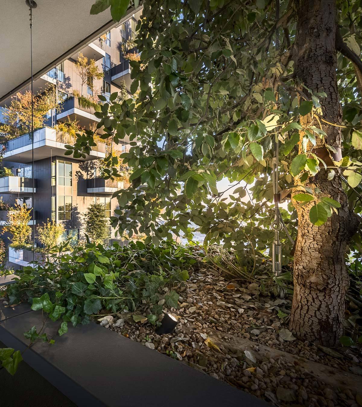 Il giardino verticale il bosco verticale di milano with il giardino verticale beautiful - Giardino verticale madrid ...