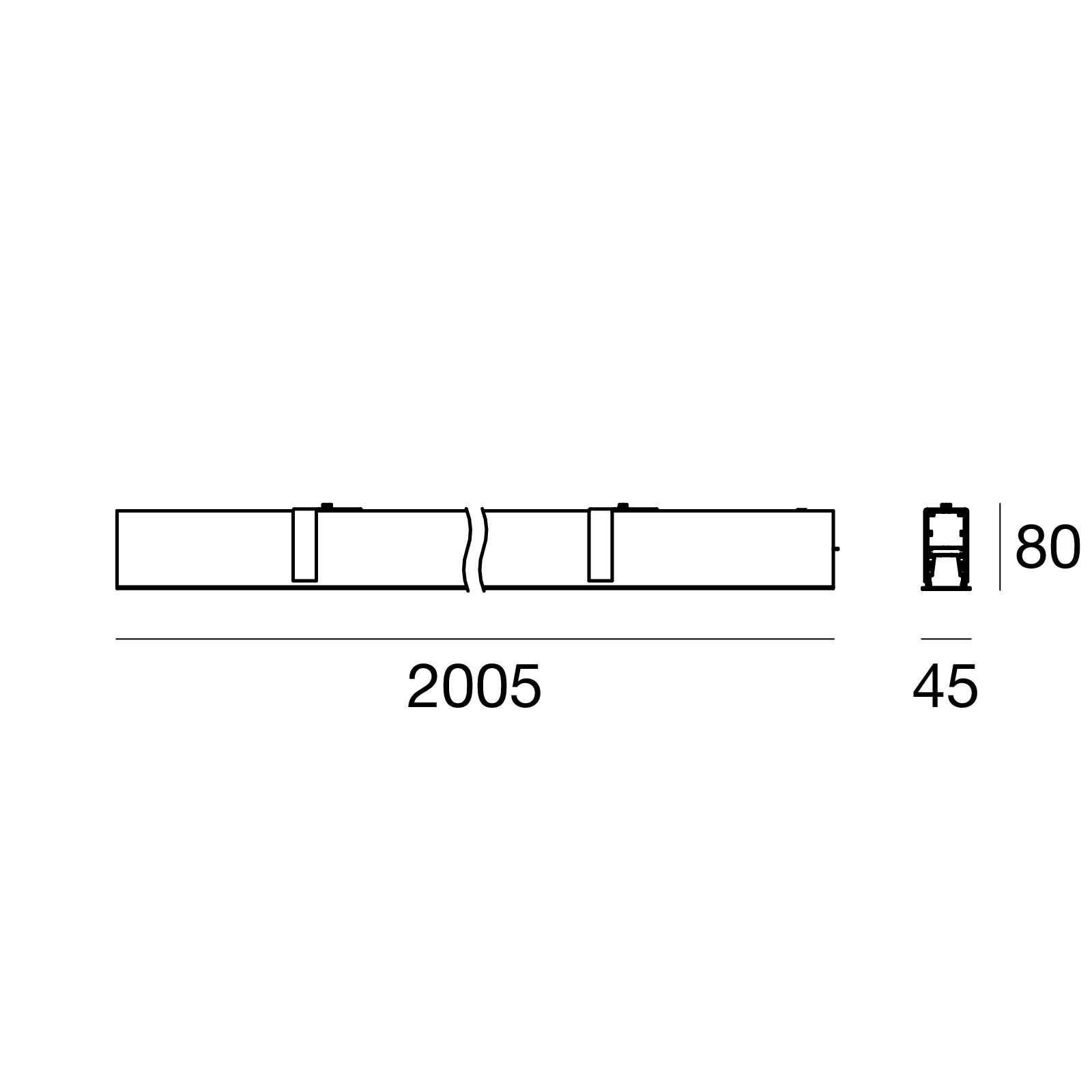 линейные элементы Mini Outlinemf 59474w00 Linea Light Group