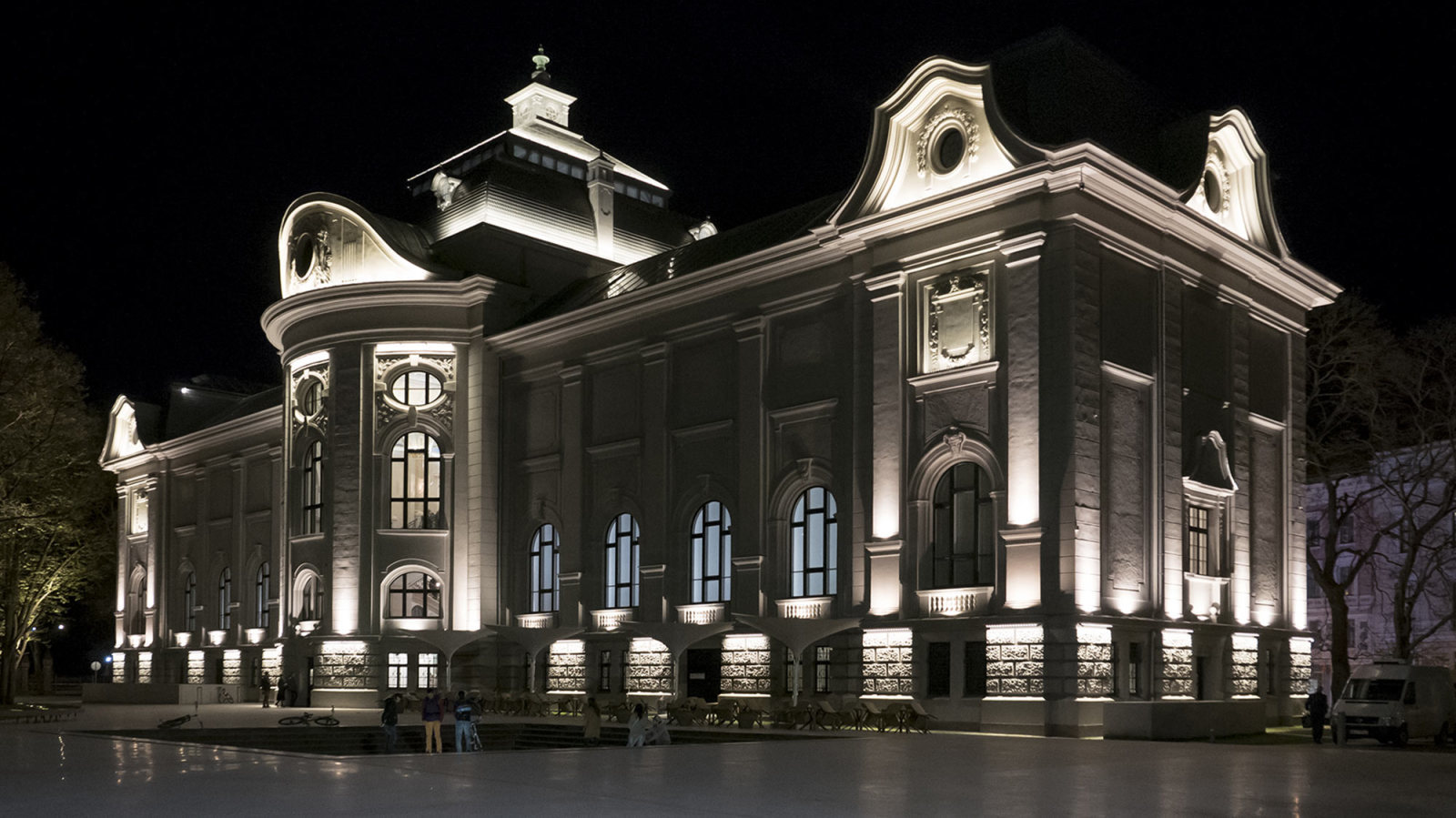 The National Museum of Fine Arts in RIGA